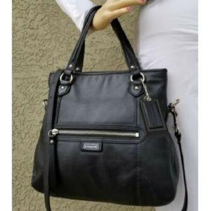 Coach Daisy Mia Leather Satchel Crossbody Handbag